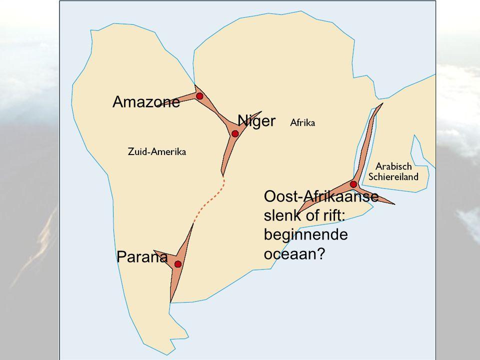 Oost-Afrikaanse slenk of rift: beginnende oceaan