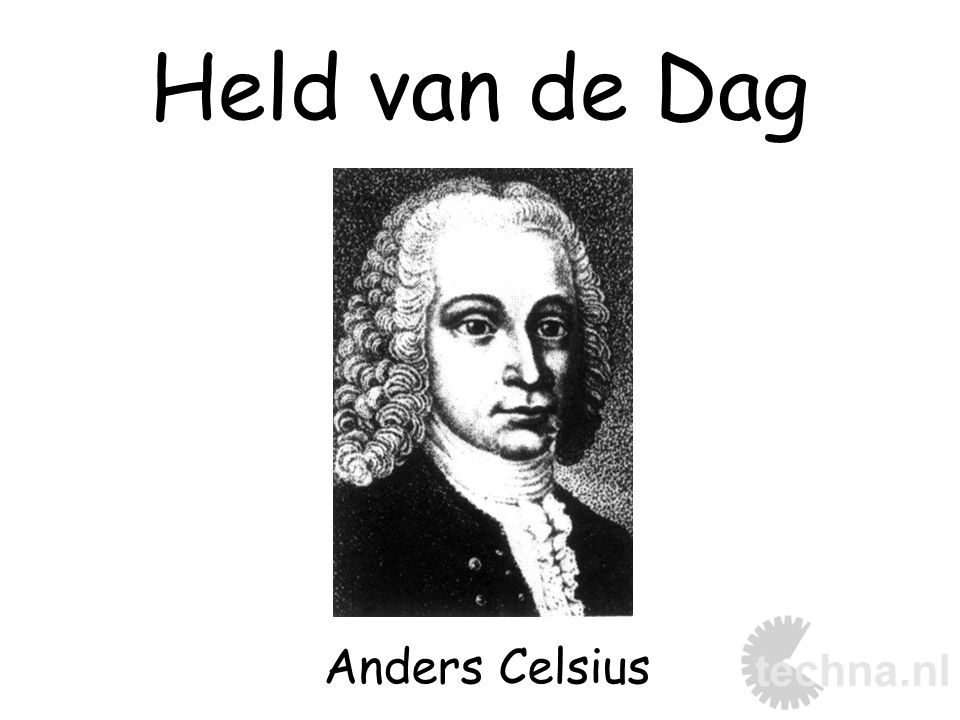 Held van de Dag Anders Celsius