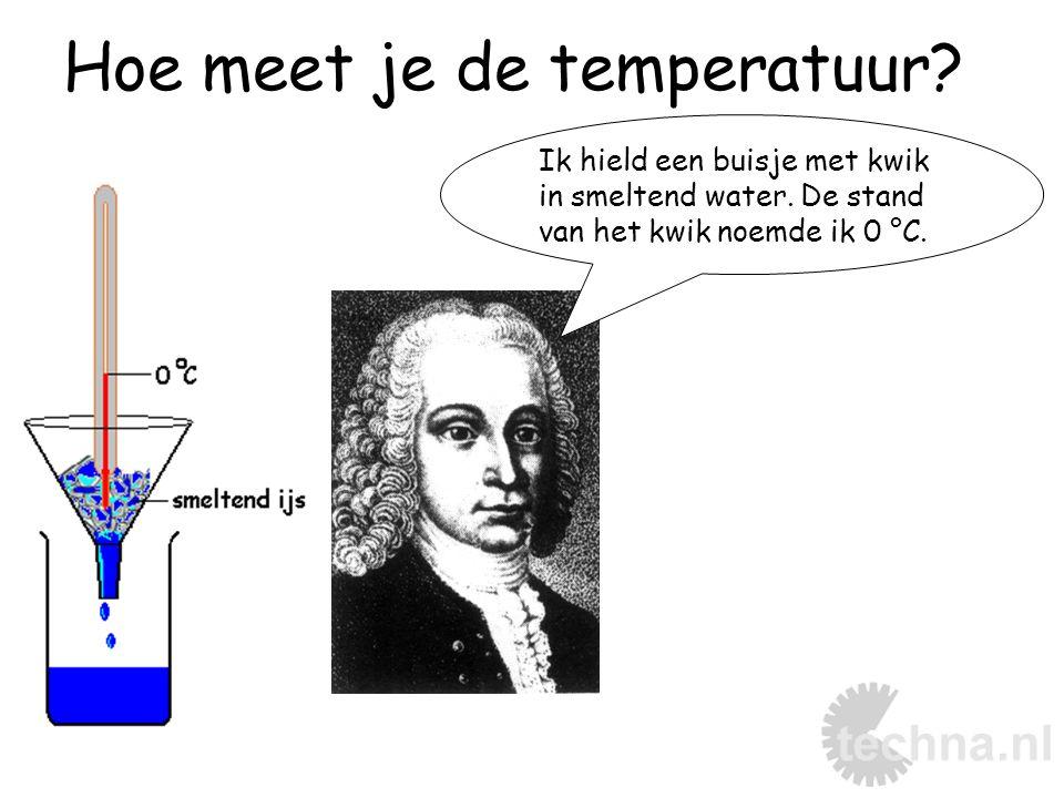 Hoe meet je de temperatuur