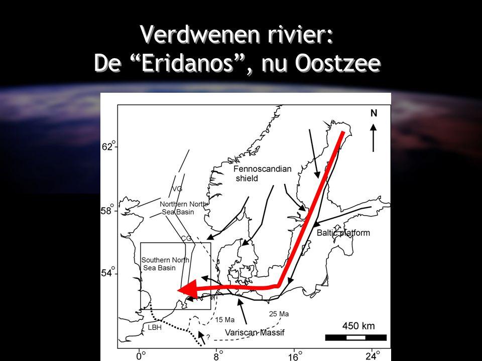 Verdwenen rivier: De Eridanos , nu Oostzee