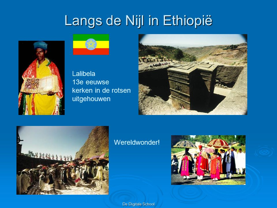 Langs de Nijl in Ethiopië