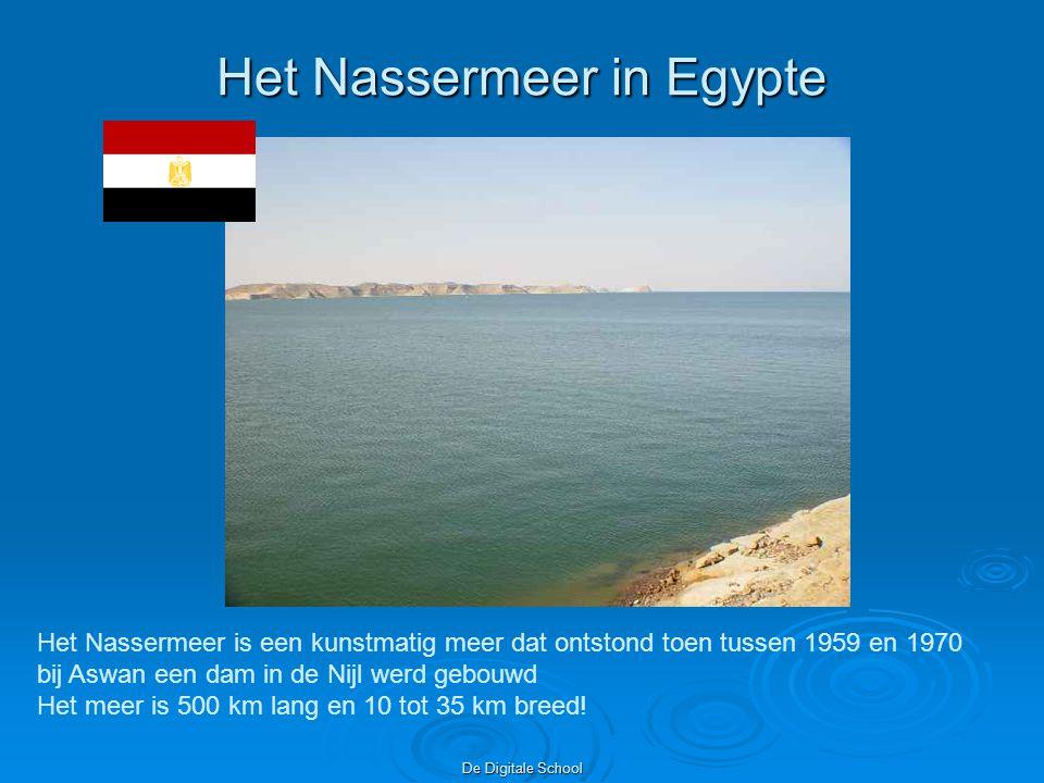 Het Nassermeer in Egypte