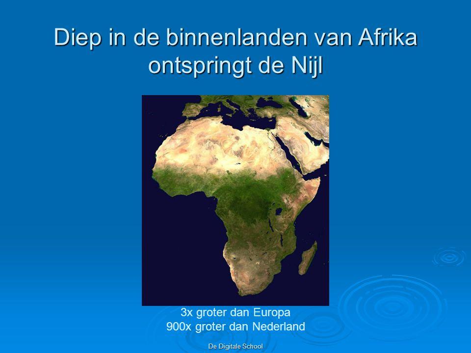 Diep in de binnenlanden van Afrika ontspringt de Nijl