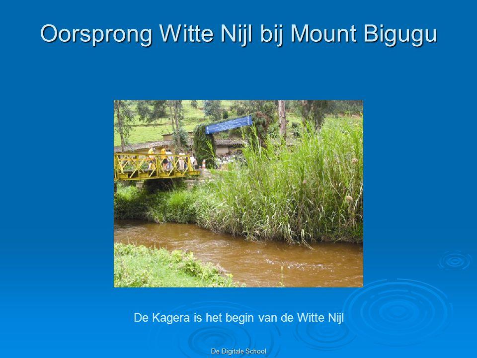 Oorsprong Witte Nijl bij Mount Bigugu