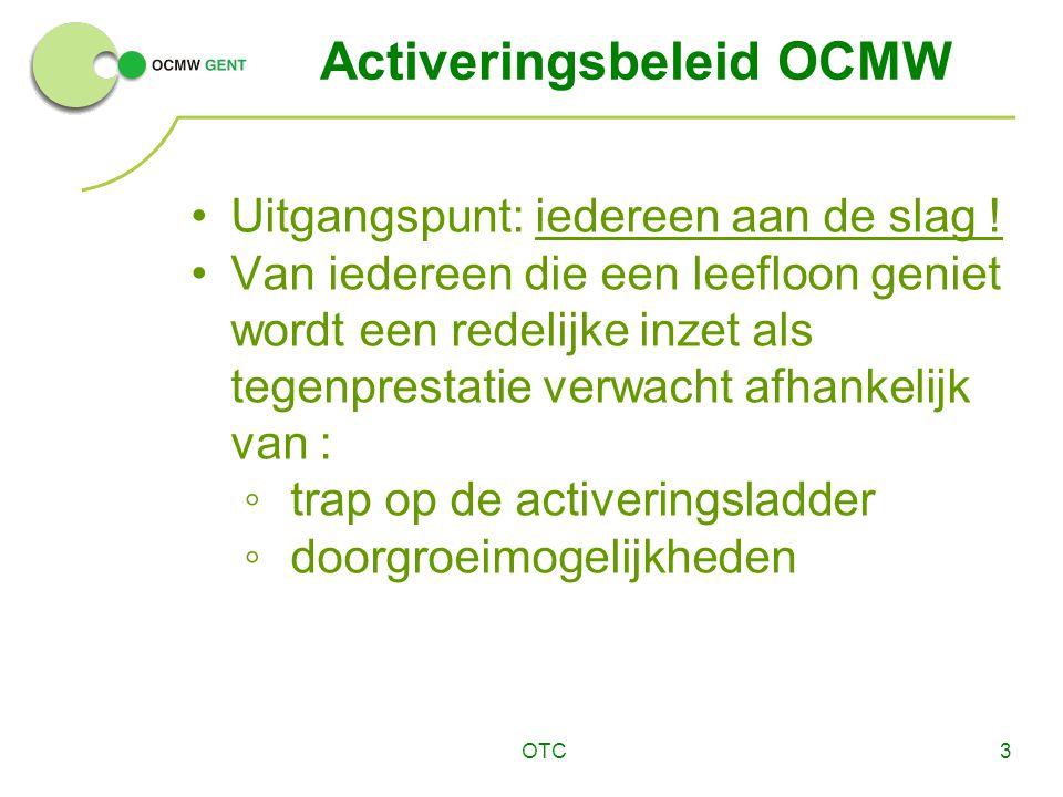 Activeringsbeleid OCMW