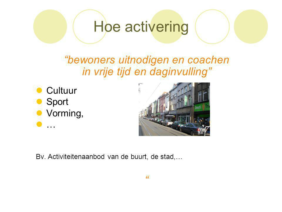 Hoe activering bewoners uitnodigen en coachen