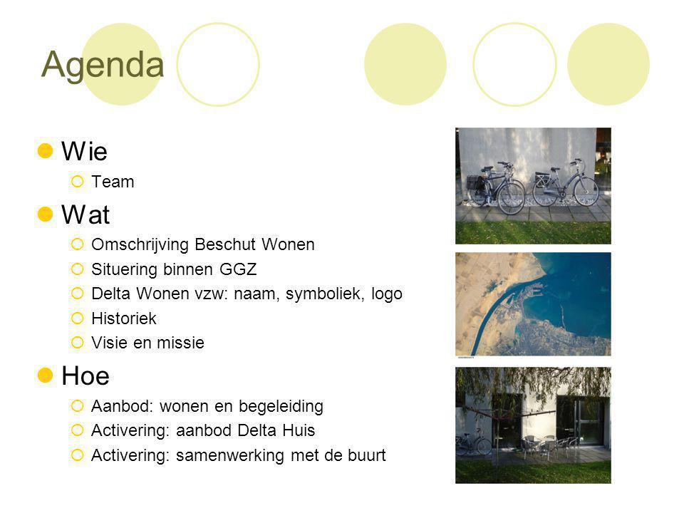 Agenda Wie Wat Hoe Team Omschrijving Beschut Wonen