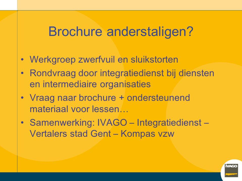 Brochure anderstaligen