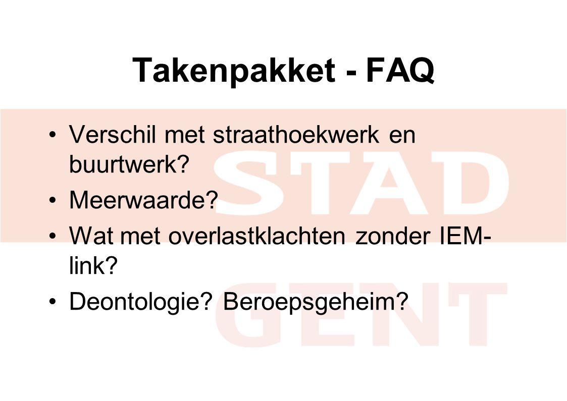 Takenpakket - FAQ Verschil met straathoekwerk en buurtwerk