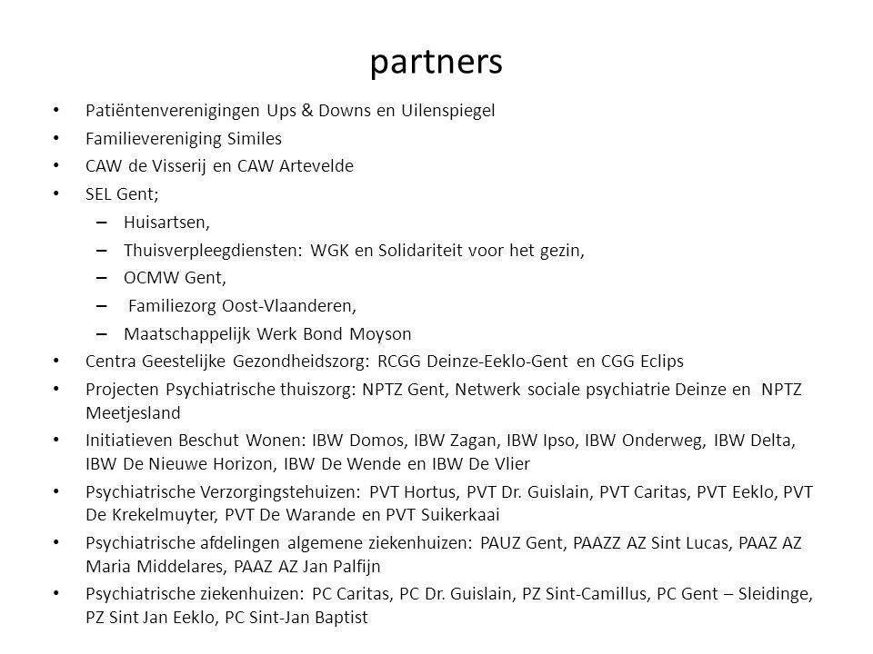 partners Patiëntenverenigingen Ups & Downs en Uilenspiegel