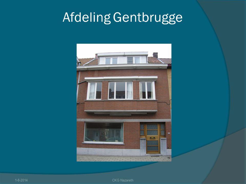 Afdeling Gentbrugge 4-4-2017 CKG Nazareth