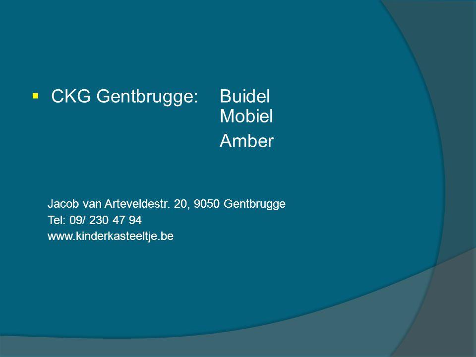 CKG Gentbrugge: Buidel Mobiel Amber