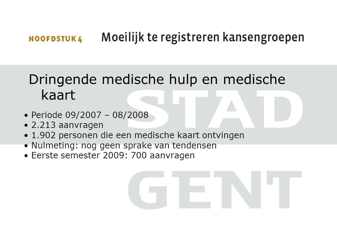 Dringende medische hulp en medische kaart