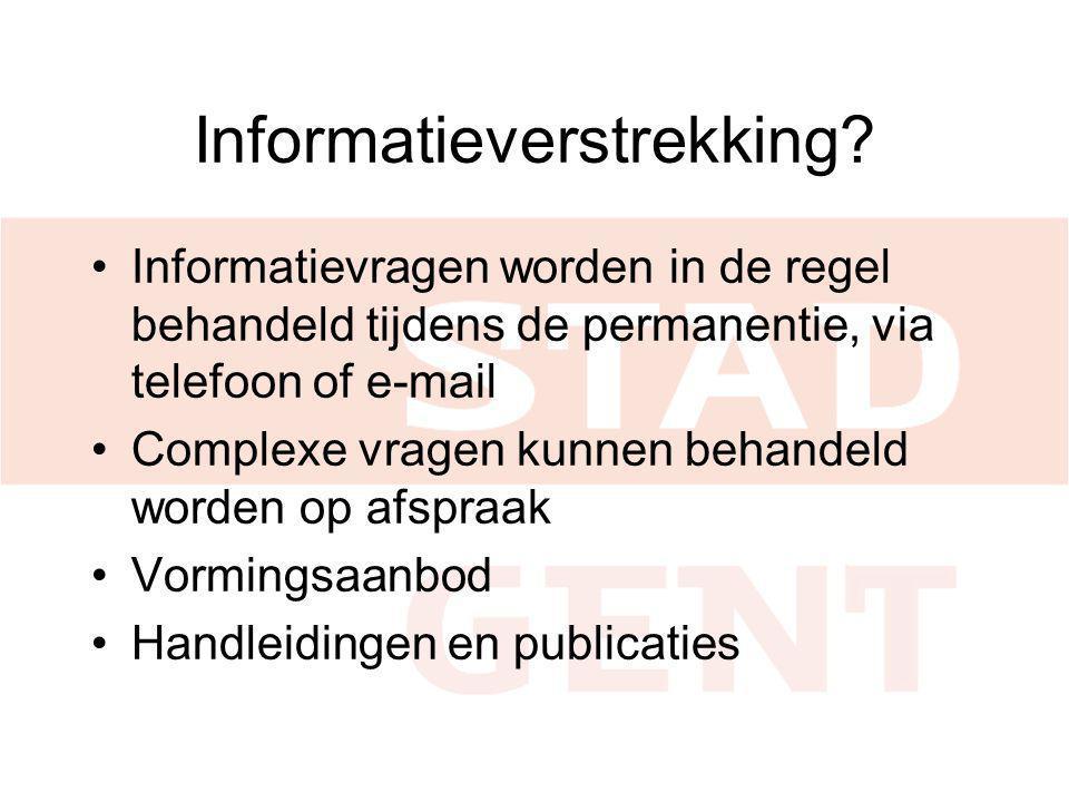 Informatieverstrekking