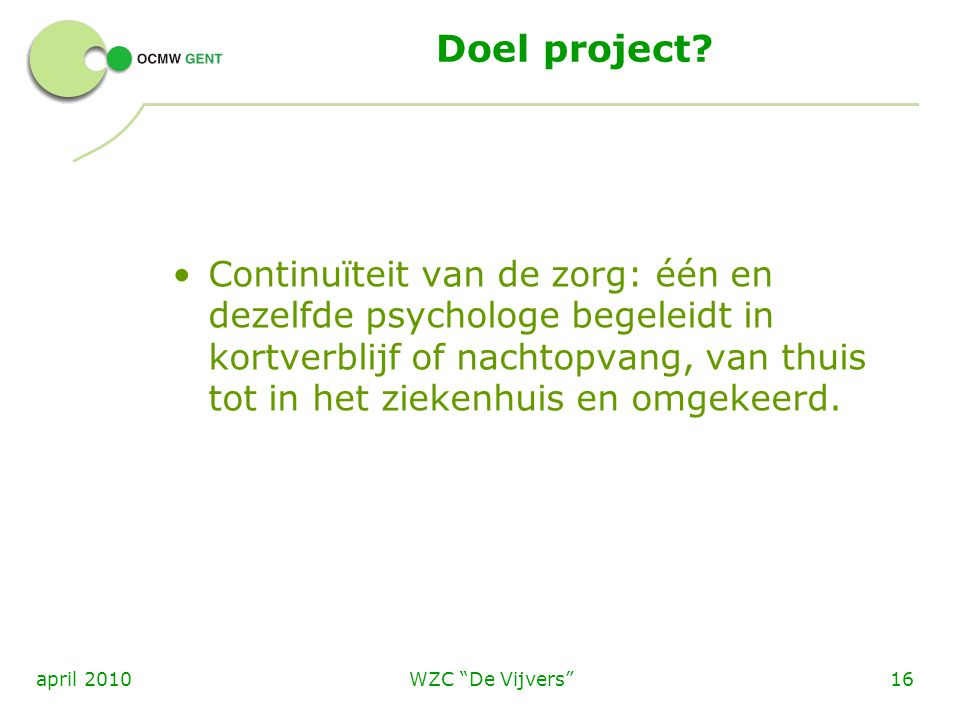 Doel project