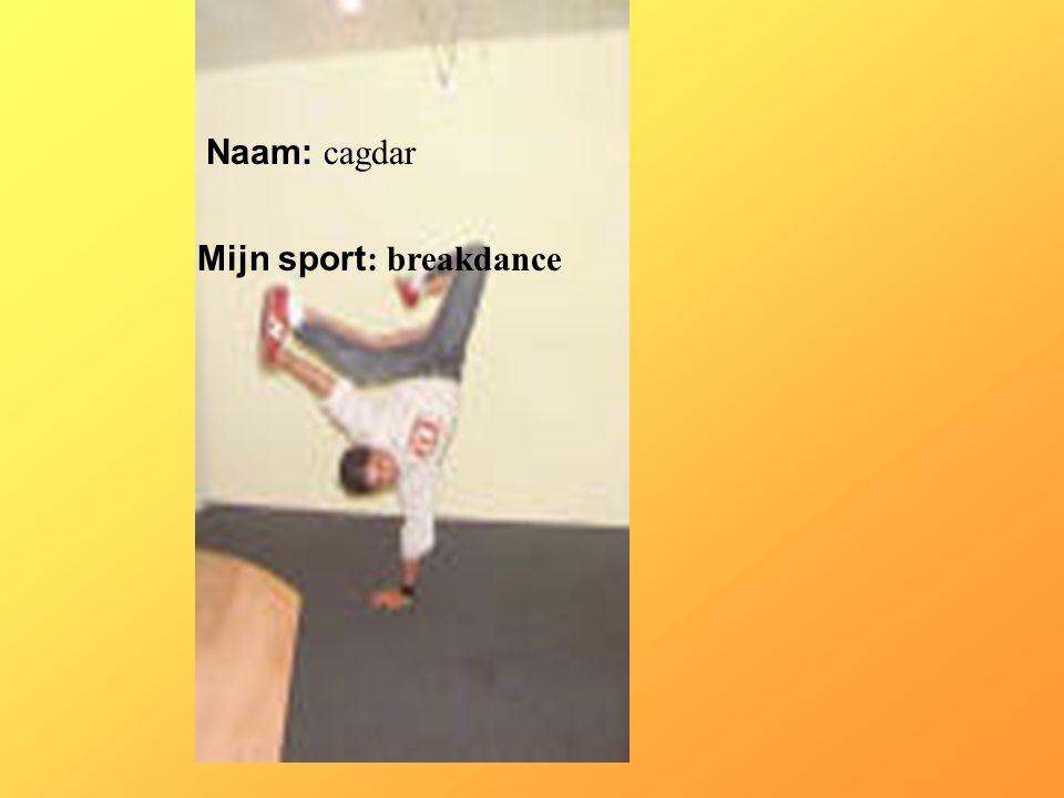 Mijn sport: breakdance
