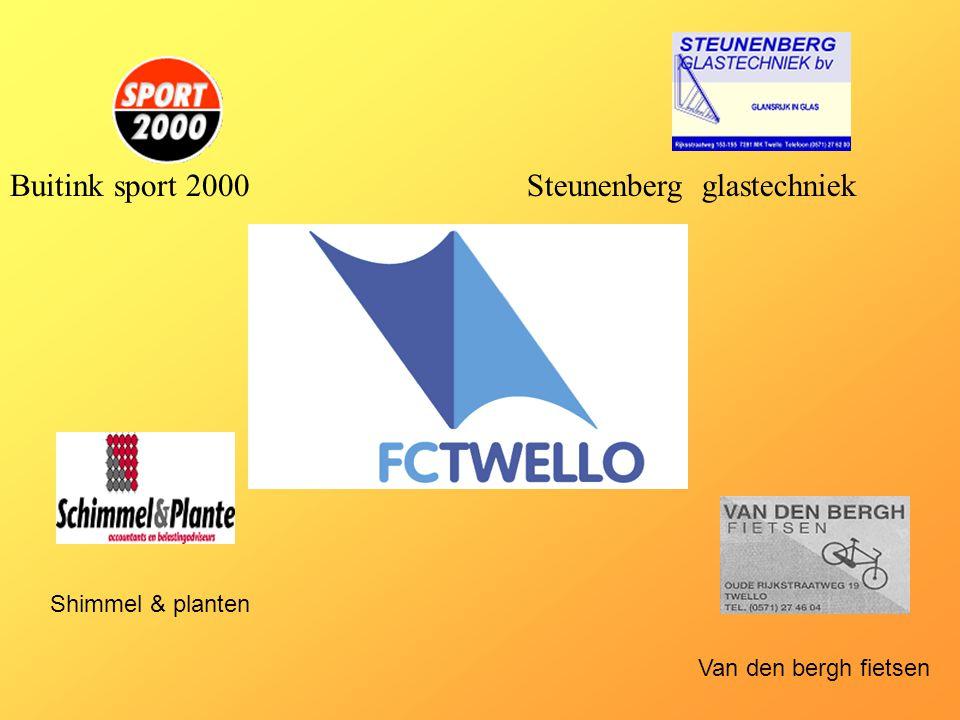 Buitink sport 2000 Steunenberg glastechniek Shimmel & planten