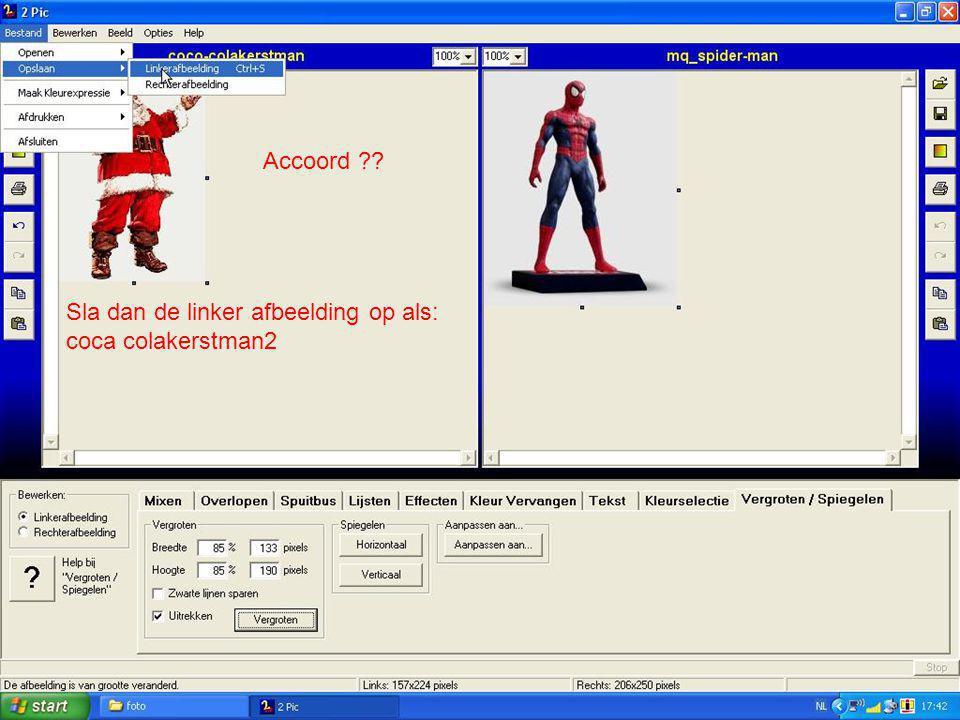 Accoord Sla dan de linker afbeelding op als: coca colakerstman2