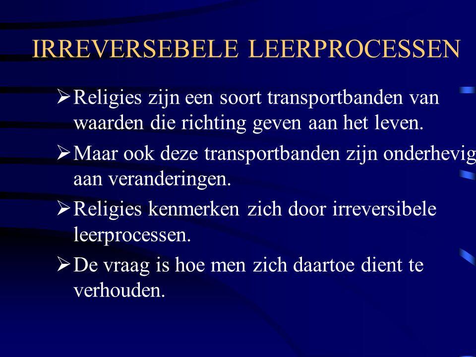 IRREVERSEBELE LEERPROCESSEN