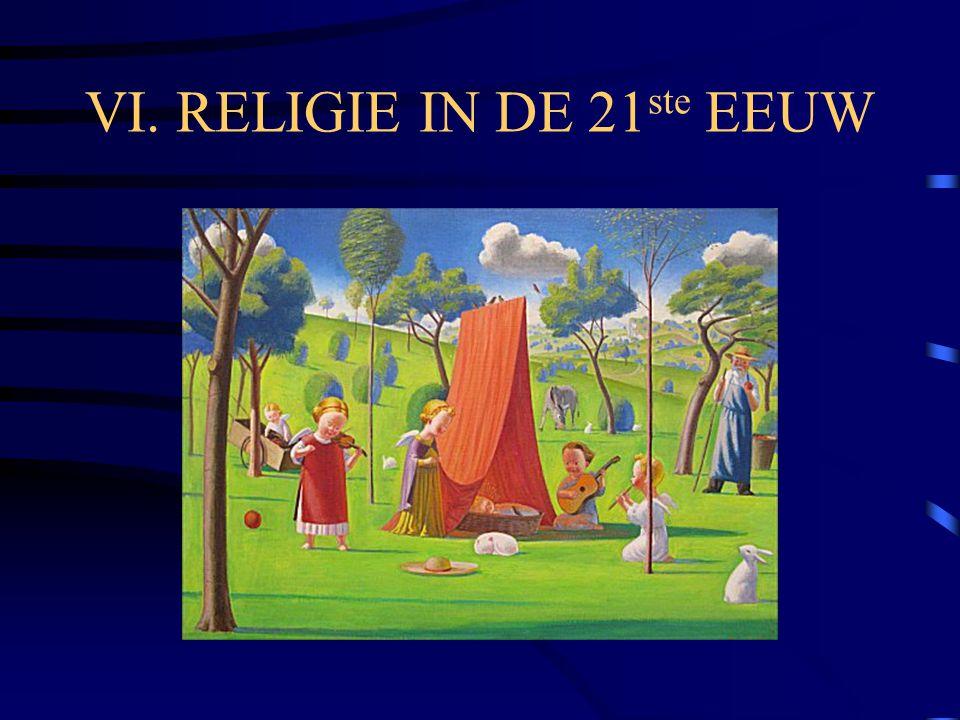 VI. RELIGIE IN DE 21ste EEUW