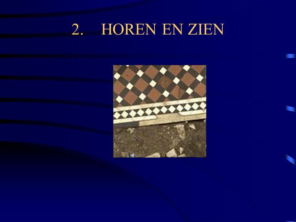 2. HOREN EN ZIEN
