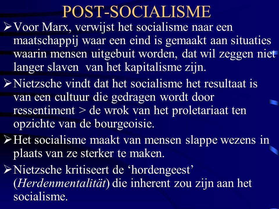 POST-SOCIALISME
