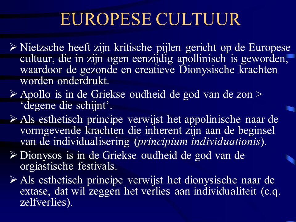 EUROPESE CULTUUR