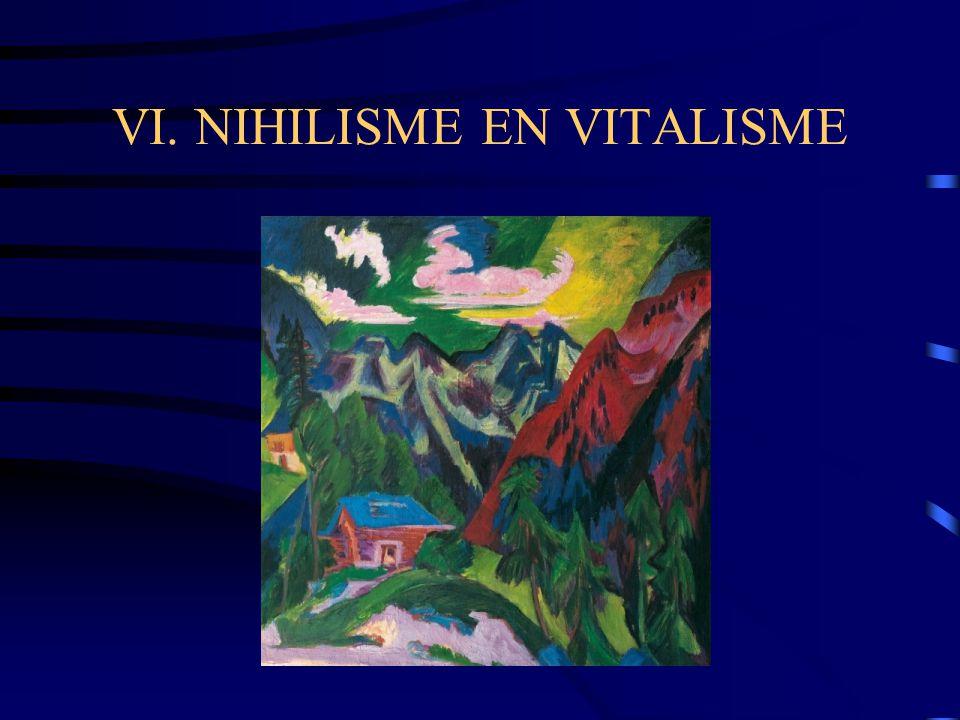 VI. NIHILISME EN VITALISME