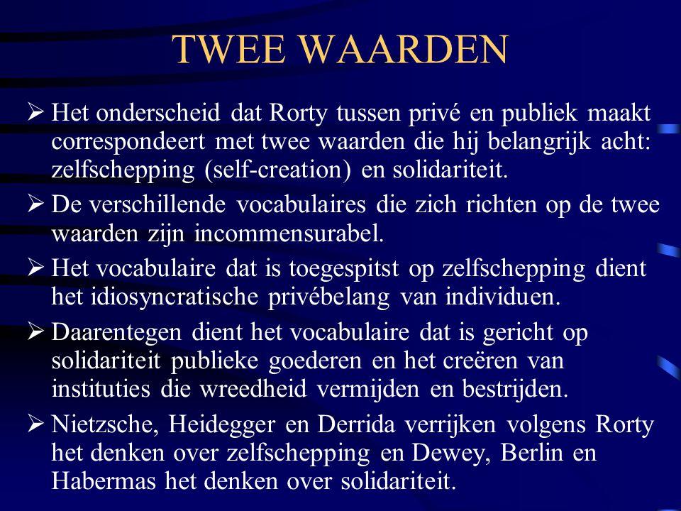 TWEE WAARDEN