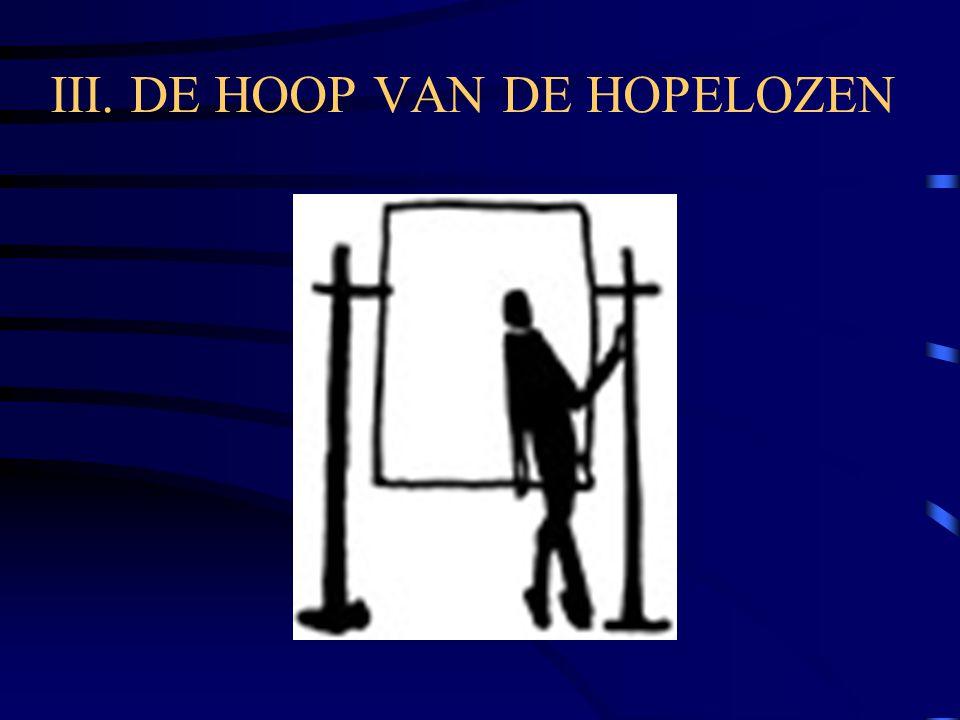 III. DE HOOP VAN DE HOPELOZEN