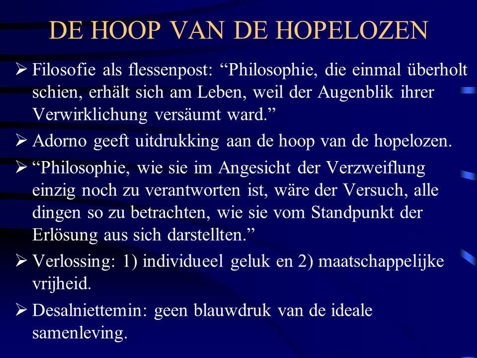 DE HOOP VAN DE HOPELOZEN