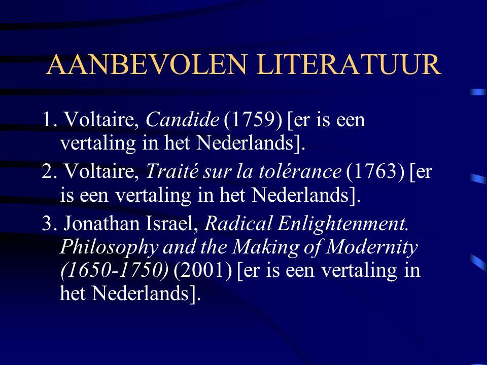 AANBEVOLEN LITERATUUR