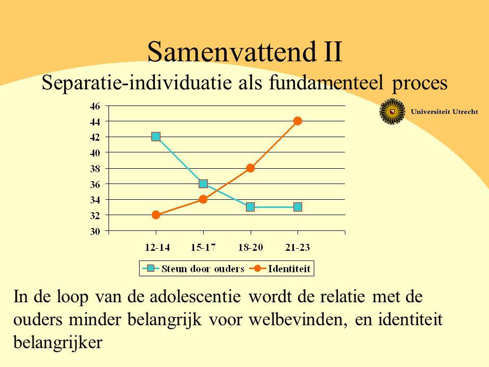 Samenvattend II Separatie-individuatie als fundamenteel proces