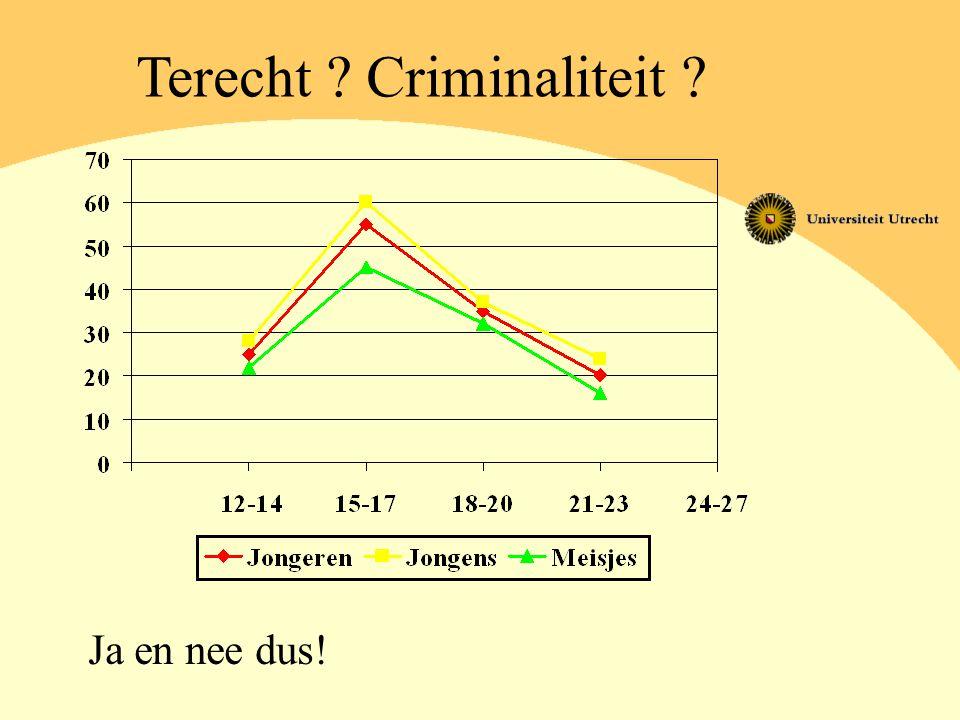 Terecht Criminaliteit
