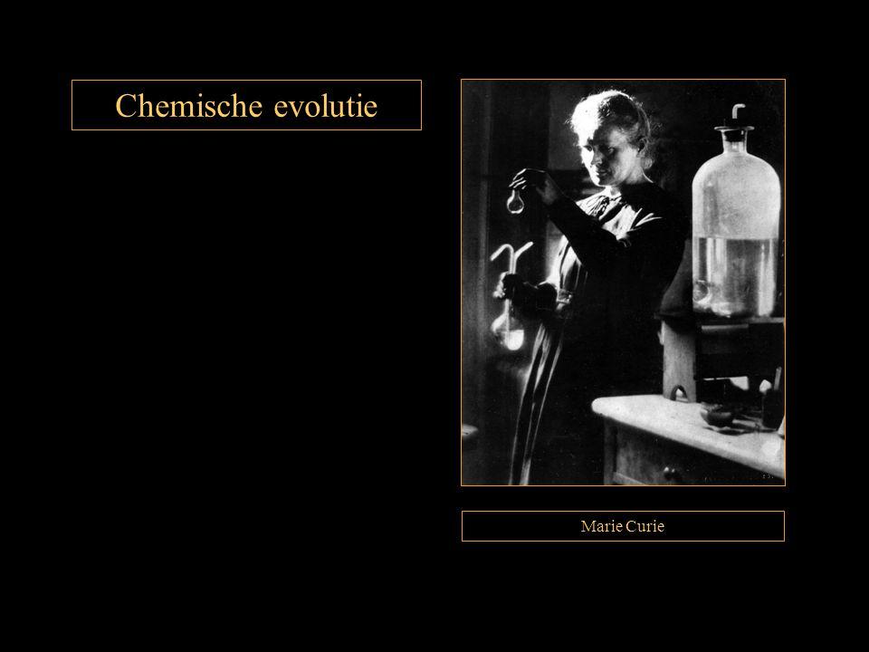 Chemische evolutie Marie Curie