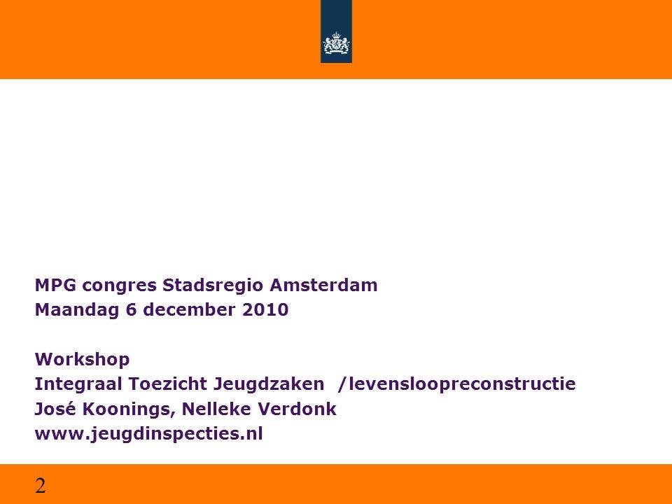 MPG congres Stadsregio Amsterdam