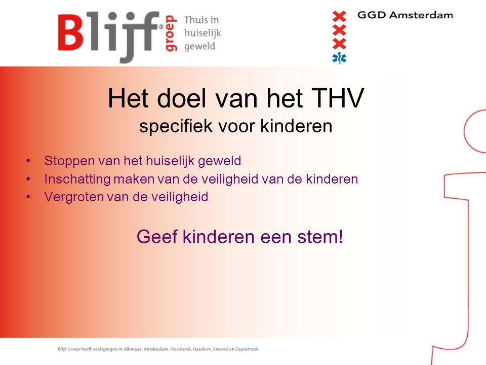 Het doel van het THV specifiek voor kinderen