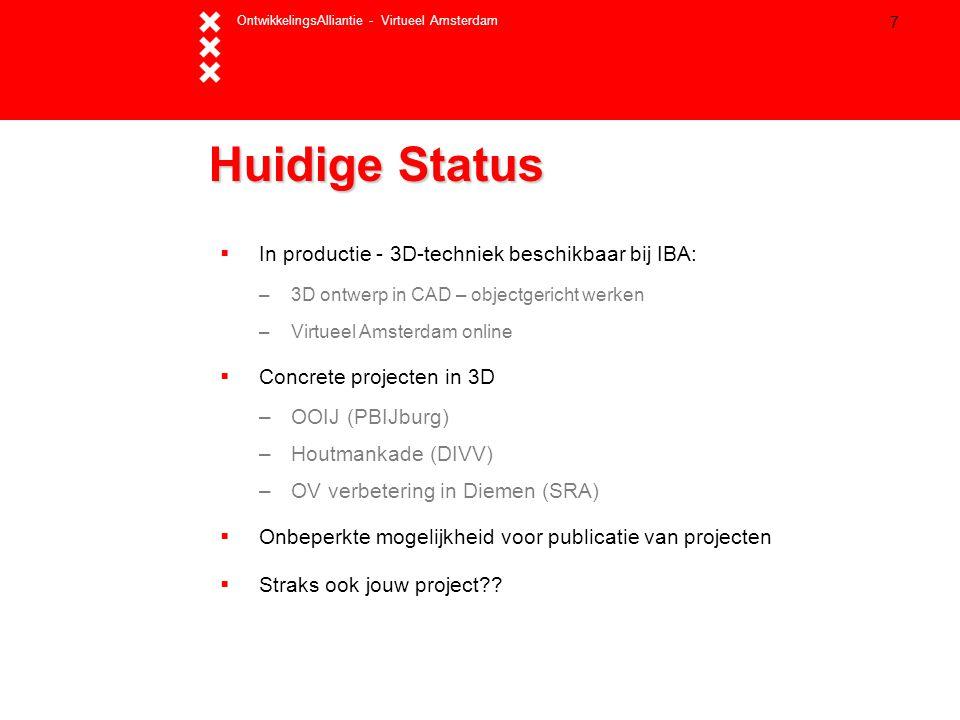 Huidige Status In productie - 3D-techniek beschikbaar bij IBA: