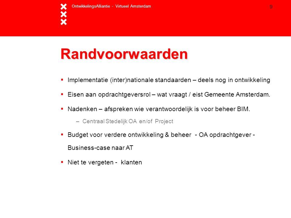 OntwikkelingsAlliantie - Virtueel Amsterdam