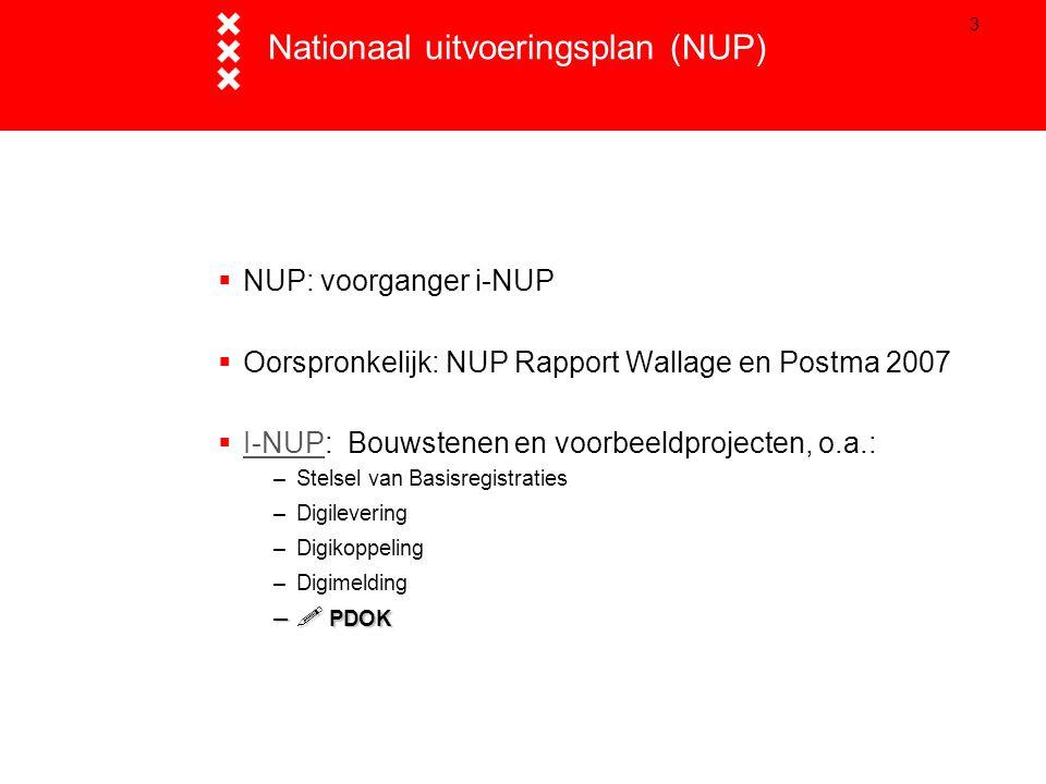 Nationaal uitvoeringsplan (NUP)