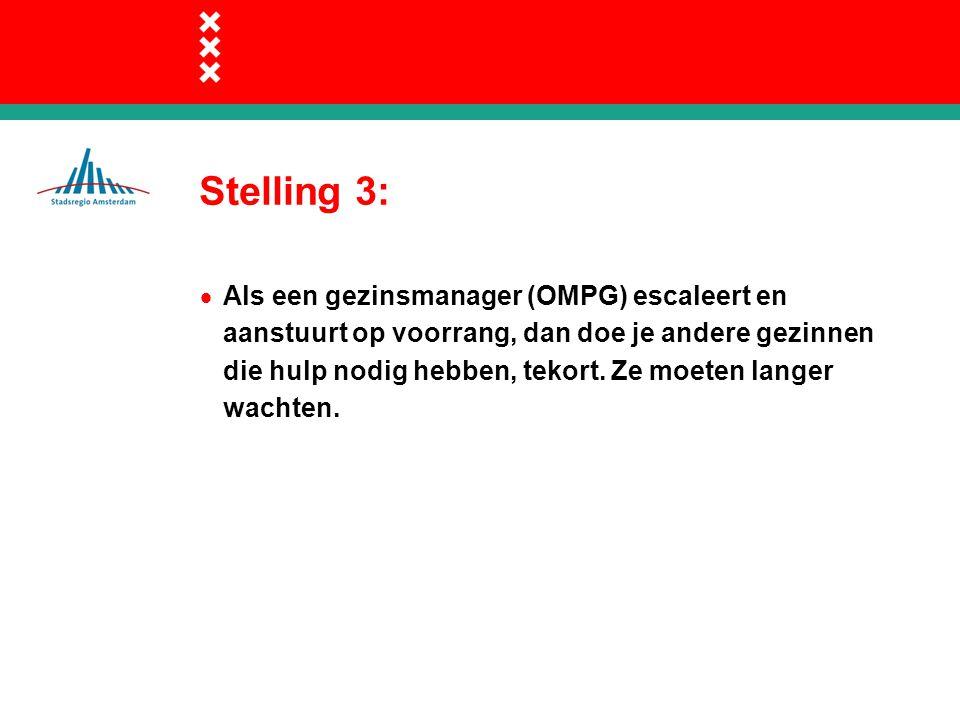 Stelling 3: