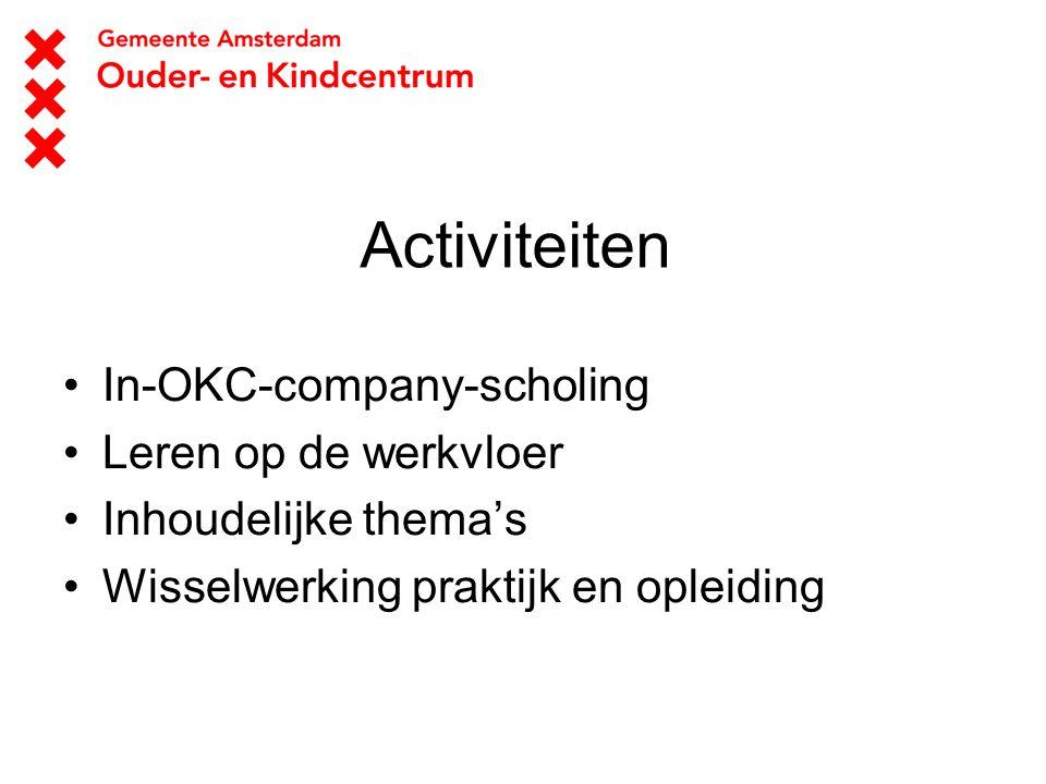 Activiteiten In-OKC-company-scholing Leren op de werkvloer