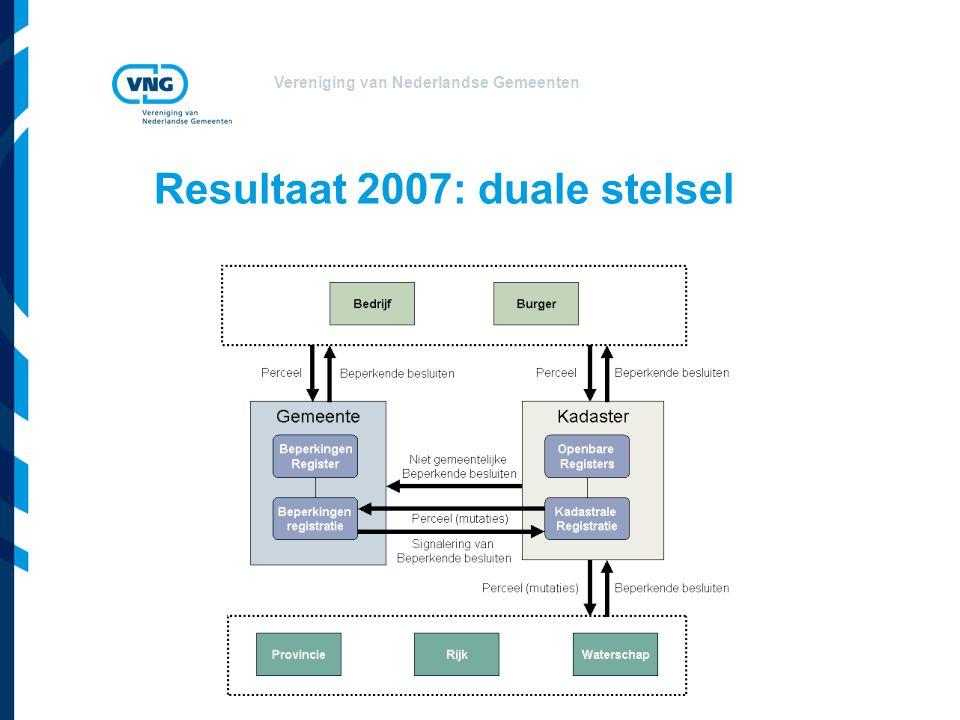 Resultaat 2007: duale stelsel