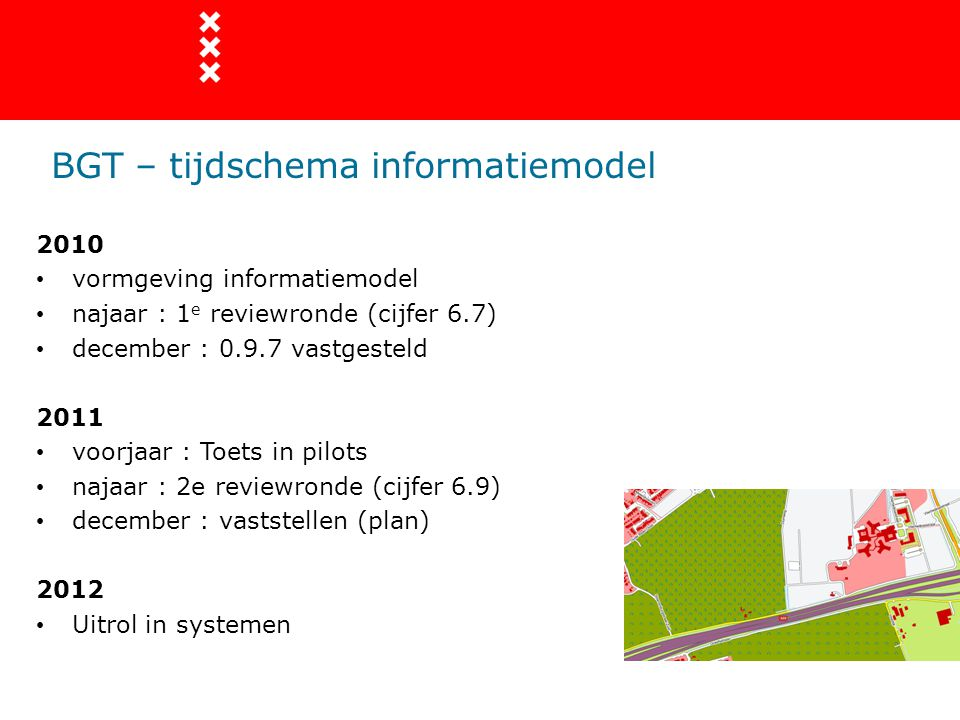 BGT – tijdschema informatiemodel
