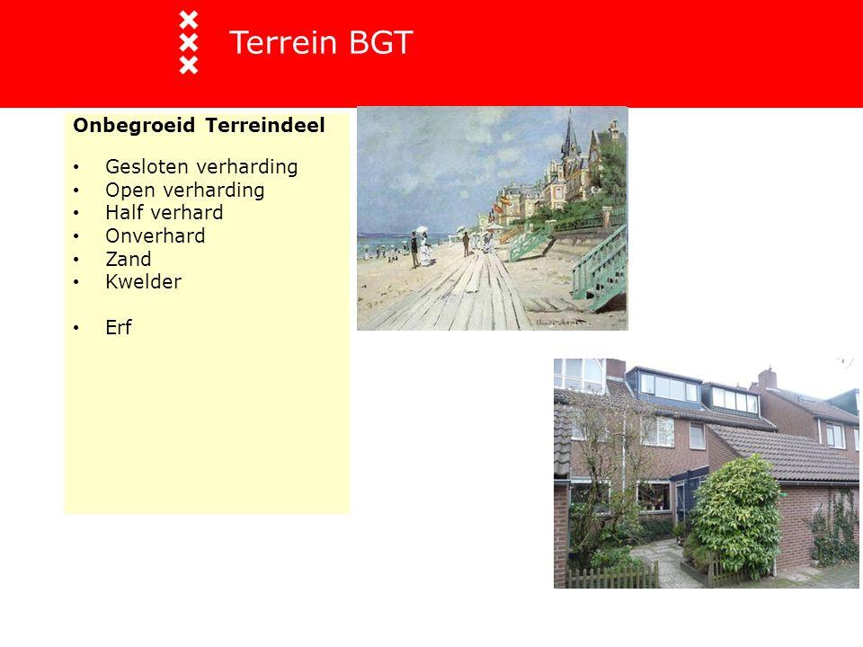 Terrein BGT Onbegroeid Terreindeel Gesloten verharding Open verharding