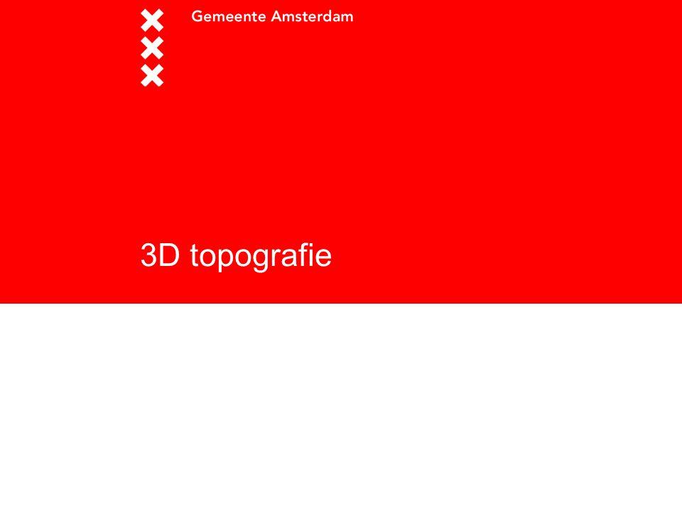 3D topografie