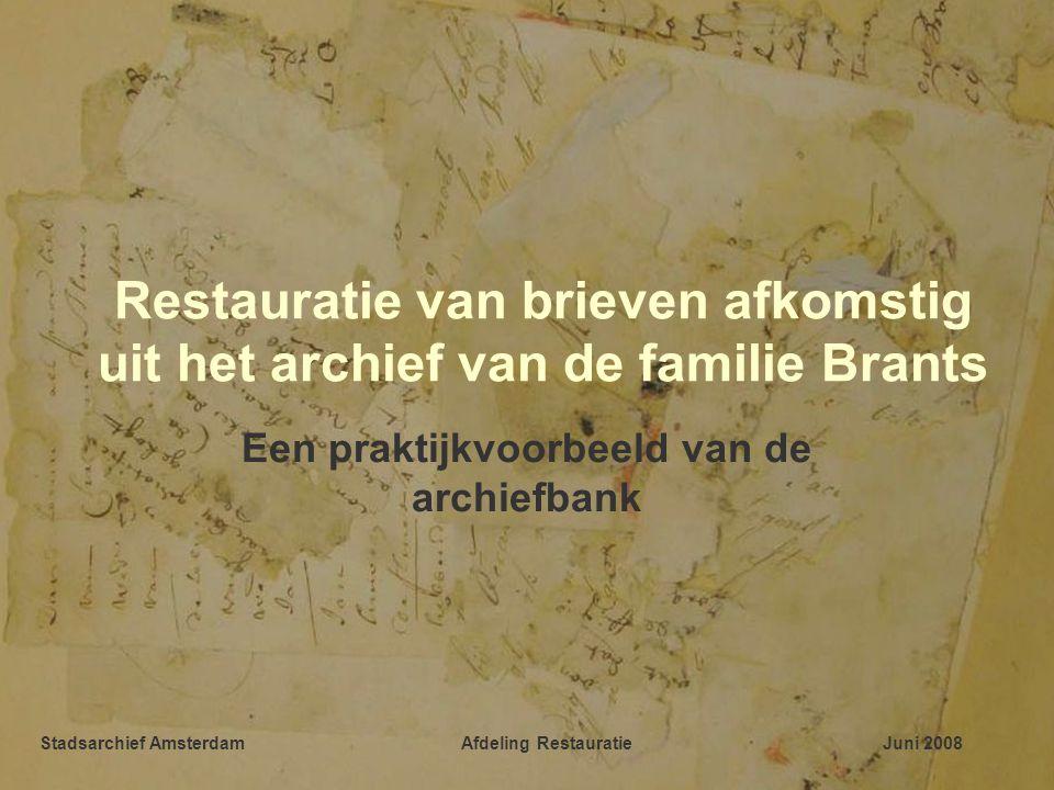 Een praktijkvoorbeeld van de archiefbank