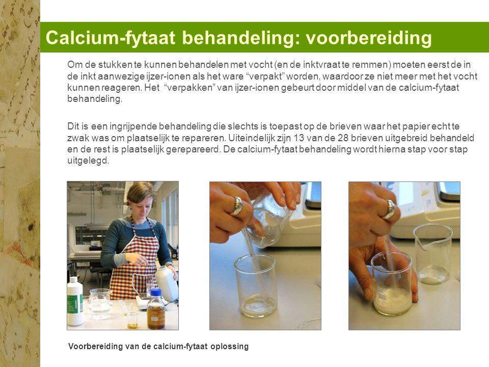 Calcium-fytaat behandeling: voorbereiding