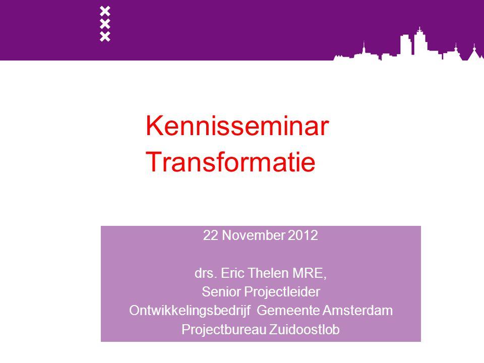 Kennisseminar Transformatie