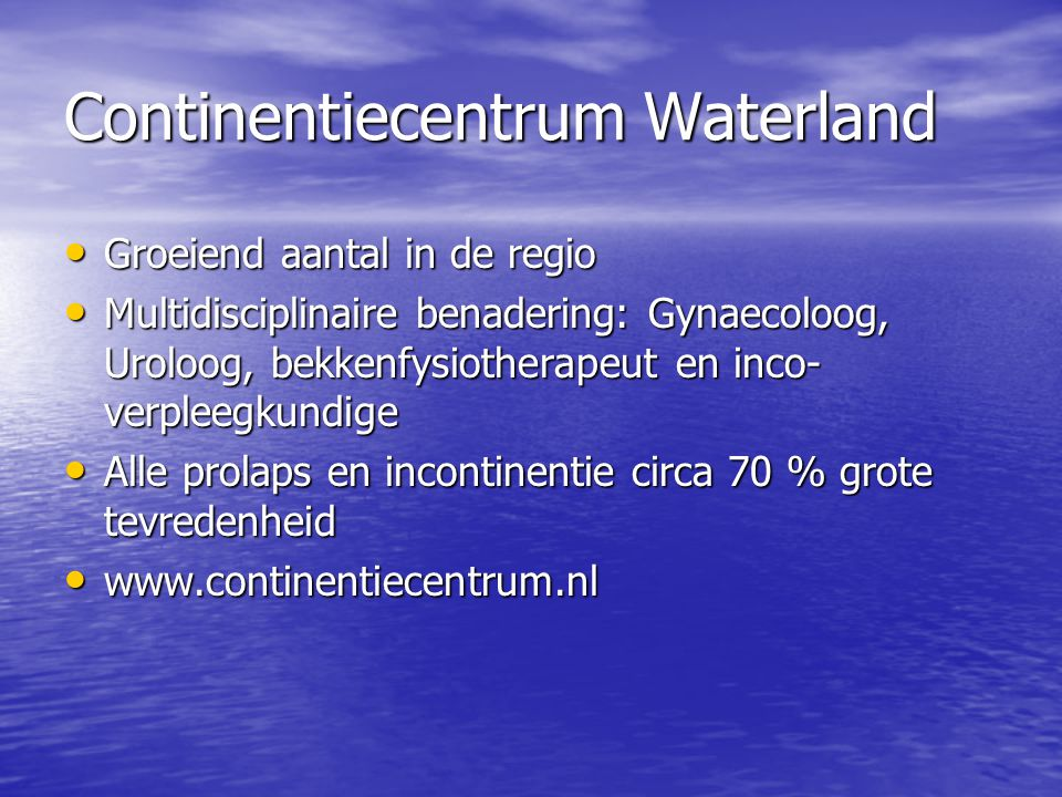 Continentiecentrum Waterland